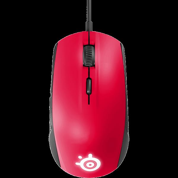 Rival 100 滑鼠(紅)