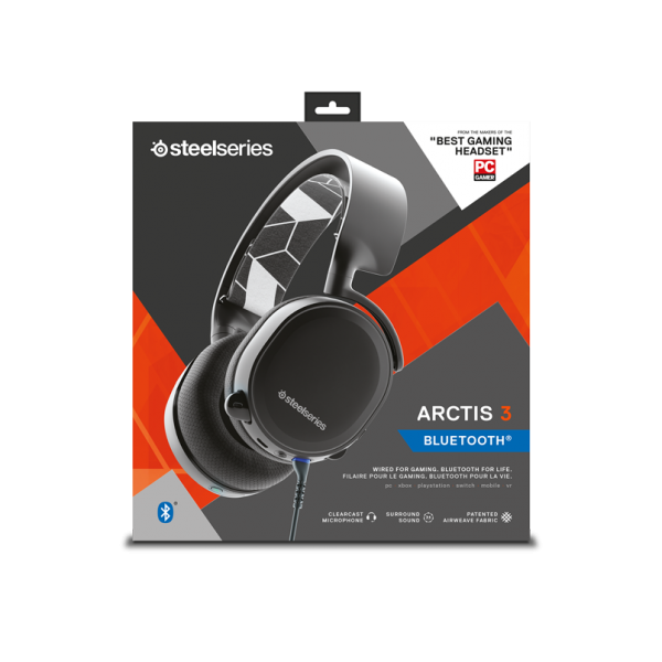 SteelSeries Arctis 3 藍芽耳麥