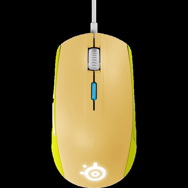 Rival 100 滑鼠(綠)